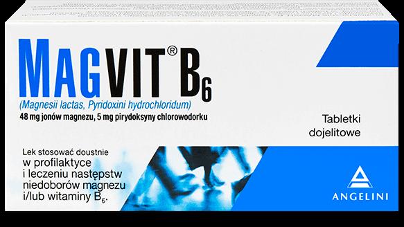 Opakowanie leku Magvit B6